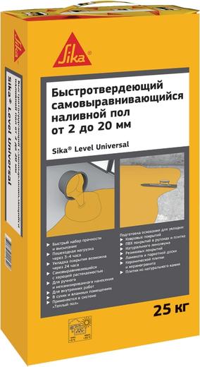 Sika Sikafloor Level Universal наливной пол для окончательного выравнивания (25 кг)