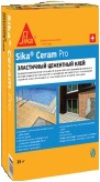Sika Sikaceram Pro высококачественный эластичный цементный плиточный клей (25 кг)