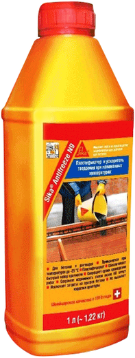 Antifreeze n9 комплексная для зимнего бетонирования 1 л
