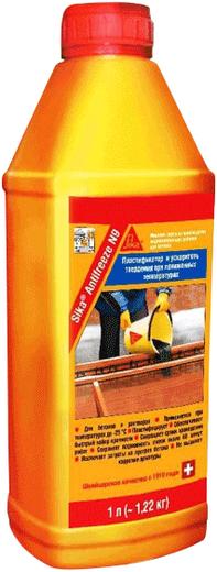 Sika Antifreeze N9 комплексная добавка для зимнего бетонирования (5 л)