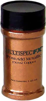 Fx post-add metallic для получения эффекта металлика 40 г медь