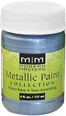 Rust-Oleum Modern Masters Metallic Paint краска с эффектом яркого металлика (177 мл) серебро