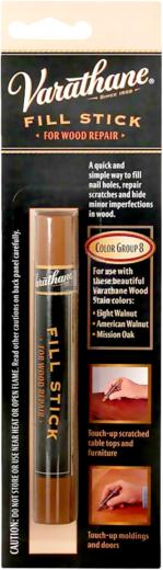 Rust-Oleum Varathane Fill Stick компаунд-карандаш (16 г) светлая вишня, традиционная вишня