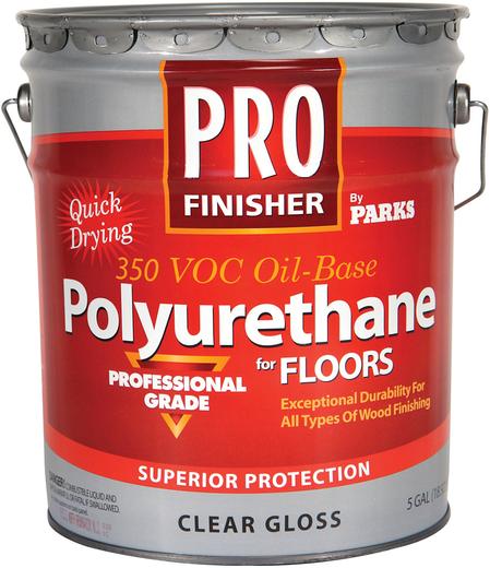 Rust-Oleum Pro Finisher Polyurethane for Floors профессиональный полиуретановый лак для пола (3.78 л) матовый