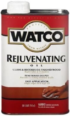 Rust-Oleum Watco Rejuvenating Oil масло для обновления деревянных поверхностей (946 мл) бесцветное