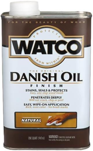 Rust-Oleum Watco Danish Oil датское оригинальное тонирующее масло (472 мл) натуральное