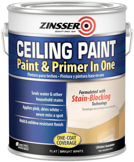 Rust-Oleum Zinsser Ceiling Paint потолочная краска без запаха
