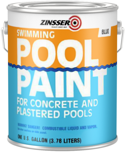 Rust-Oleum Zinsser Swimming Pool Paint краска для бассейнов (3.78 л) белая