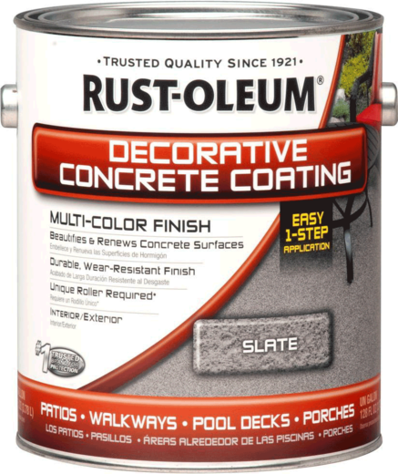 Rust-Oleum Decorative Concrete Coating Multi-Color Finish декоративное покрытие