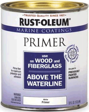 Rust-Oleum Marine Coatings Use on Wood and Fiberglass Above the Waterline грунт для яхт и лодок