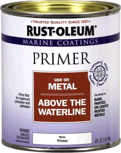 Rust-Oleum Marine Coatings Use on Metal Above the Waterline грунт для яхт и лодок выше ватерлинии