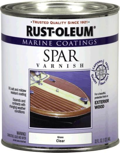 Rust-Oleum Marine Coatings Spar Varnish лак для яхт и лодок (946 мл)