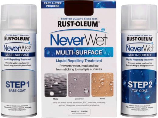 Rust-Oleum NeverWet Multi-Surface водоотталкивающее самоочищающееся покрытие (510 г) бесцветное