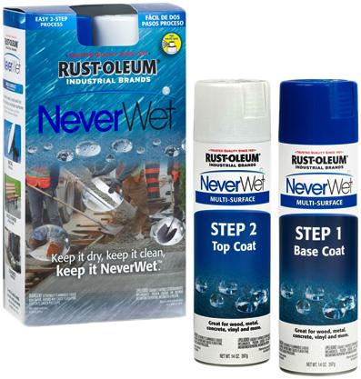 Rust-Oleum NeverWet Industrial Brands Liquid водоотталкивающее самоочищающееся покрытие