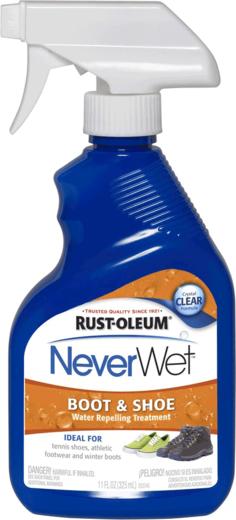 Rust-Oleum NeverWet Boot & Shoe водоотталкивающее средство для обуви (325 мл) бесцветное