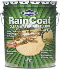 Rust-Oleum Wolman RainCoat Clear Water Repelllent пропитка прозрачная (3.78 л) бесцветная