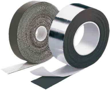 K-Flex Air теплоизоляция и звукоизоляция для воздуховодов (лента из вспен. каучука)