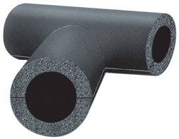 K-Flex ST универсальная техническая теплоизоляция (тройник Т d35/32 мм) фольга алюм. с ПВХ
