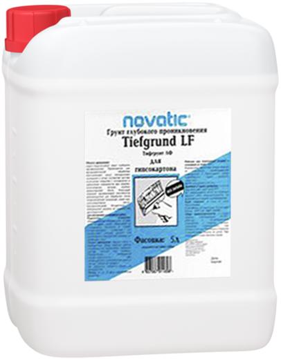 Feidal Novatic Tiefgrund LF грунтовка для гипсокартона глубокопроникающая укрепляющая (5 л) морозостойкая