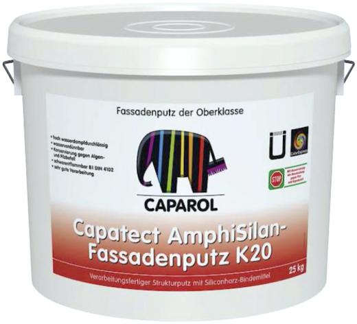Caparol Capatect AmphiSilan-Fassadenputz K20 готовая к применению структурная штукатурка