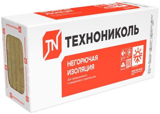 Технониколь Техноруф 45 гидрофобизированная тепло- звукоизоляционная плита (0.6*1.2 м/150 мм)
