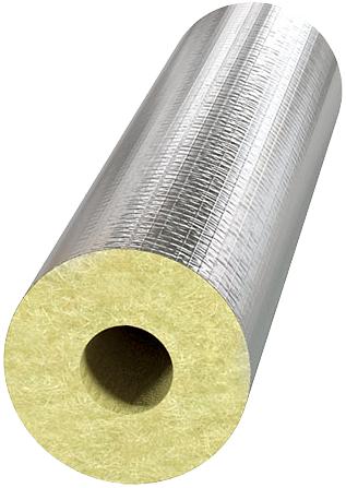 Технониколь Техно 80 цилиндр теплоизоляционный из минеральной ваты (d18/20 мм 1.2 м) фольга алюм.