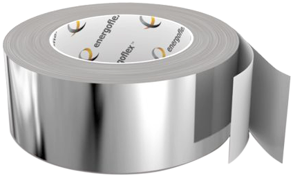 Энергофлекс лента алюминиевая самоклеящаяся