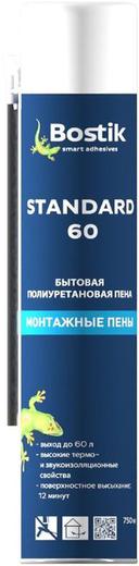 Bostik Standard 60 бытовая полиуретановая монтажная пена (750 мл) ручная