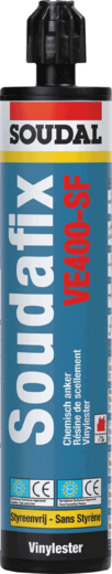 Soudal Soudafix VE400-SF химический анкер (380 мл)