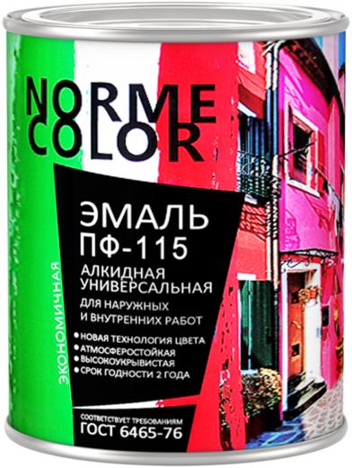 Norme Color ПФ-115 эмаль алкидная универсальная (20 кг) коричневая