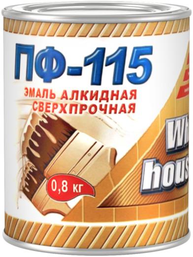 White House ПФ-115 эмаль алкидная сверхпрочная (2.7 кг) красная
