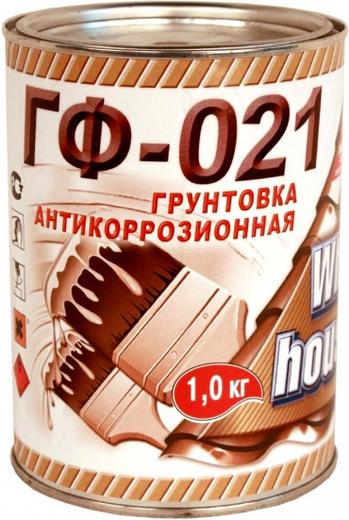 White House ГФ-021 грунтовка антикоррозионная (25 кг) серая