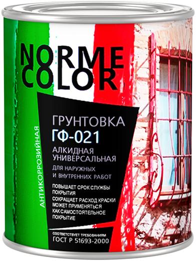 Norme Color ГФ-021 грунтовка алкидная универсальная (20 кг) серая