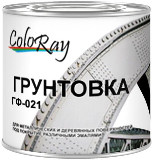 Краски Черноземья ГФ-021 Coloray грунтовка антикоррозийная (20 кг) серая