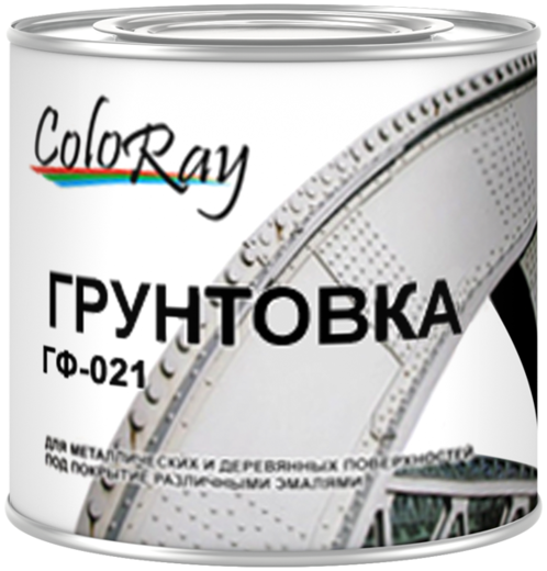 Краски Черноземья ГФ-021 Coloray грунтовка антикоррозийная