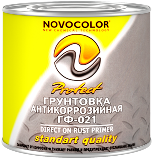 Новоколор ГФ-021 Protect грунтовка антикоррозийная