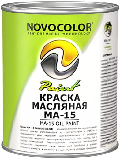 Новоколор МА-15 Норма краска масляная (1 кг) зеленая