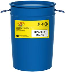 КраскаВо МА-15 Стандарт краска масляная (25 кг) желтая