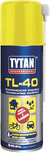 Титан Professional TL-40 техническая смазка-аэрозоль с тефлоном (150 мл)