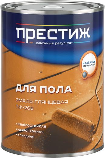 Престиж ПФ-266 эмаль для пола глянцевая (20 кг) красно-коричневая