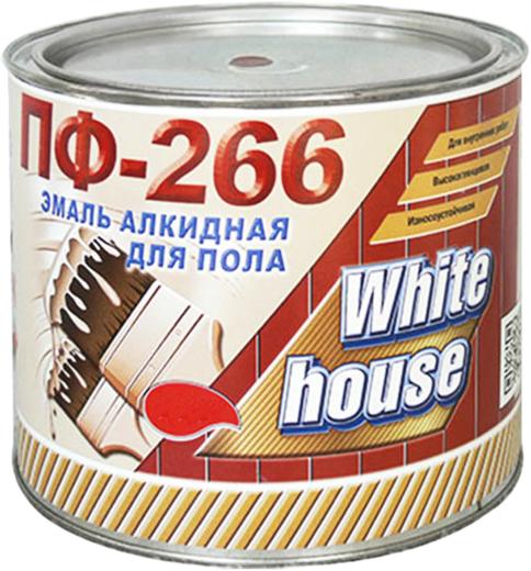 White House ПФ-266 эмаль алкидная для пола (20 кг) коричневая