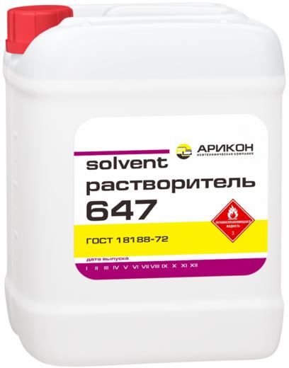 Арикон Р-647 растворитель (10 л)