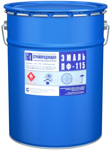 Стройпродукция ПФ-115 эмаль (25 кг) фисташковая