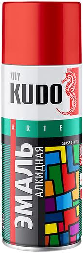 Kudo Arte Gloss Finish 3P Technology эмаль алкидная универсальная (520 мл) зеленая