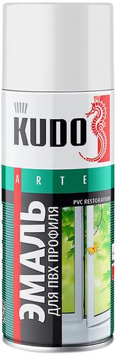 Kudo Arte PVC Restoration эмаль для ПВХ профиля (520 мл) белая