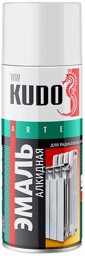 Kudo Arte эмаль алкидная для радиаторов отопления (520 мл) белая