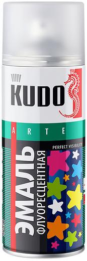 Kudo Arte Perfect Visibility эмаль флуоресцентная (520 мл) лимонно-желтая