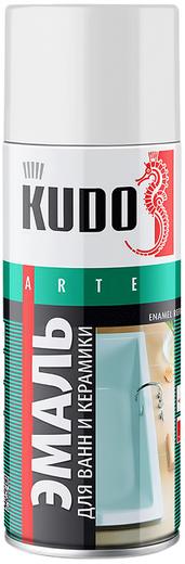 Kudo Arte Enamel Repair эмаль для реставрации ванн и керамики (520 мл) белая