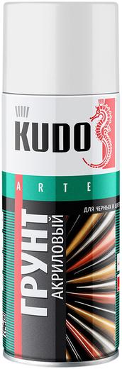 Kudo Arte грунт акриловый универсальный для черных и цветных металлов (520 мл) серый