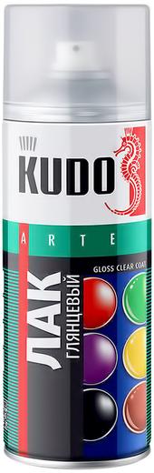 Kudo Arte Gloss Clear Coat лак глянцевый акриловый универсальный (520 мл)